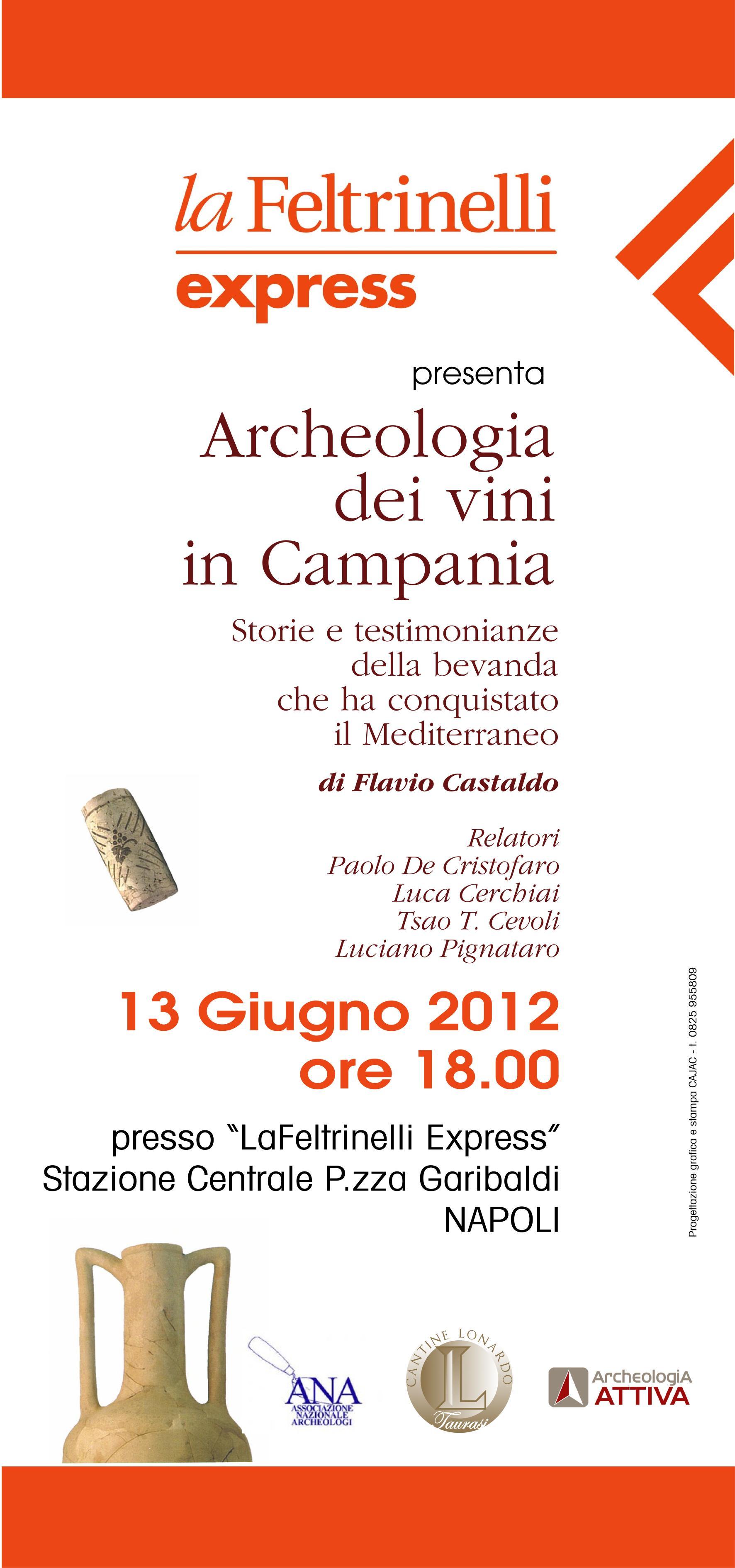 Archeologia dei vini in campania alla feltrinelli express for Sito della feltrinelli