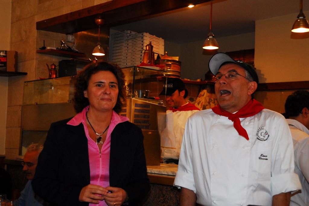 Laura Gambacorta e Enzo Coccia