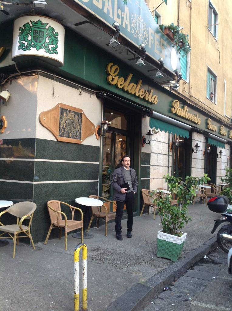 Gran Bar Franco con il titolare Davide