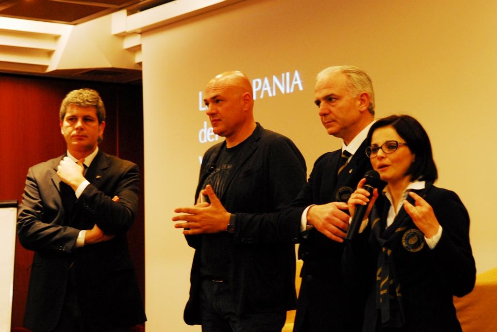 Franco De Luca, Pierpaolo Sirch, Gianni Aiuolo, Nicoletta Gargiulo