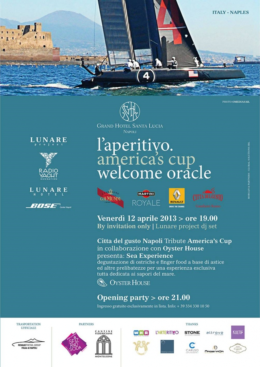 Welcome Oracle a Napoli