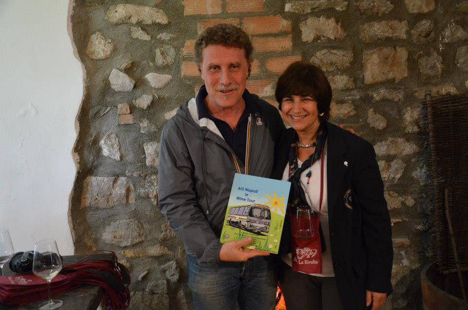 Paolo Cotroneo e Elena Erman