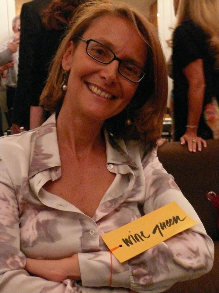 Donatella Bernabò Silorata in versione Wine Queen