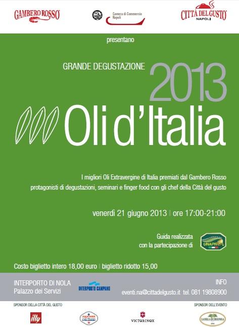 Guida Oli d'Italia 2013