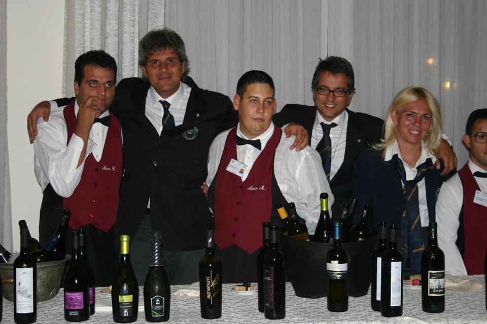 Marco Catalano, Franco De Luca, Marco Maglione, Tommaso Luongo e Manuela Papaccio