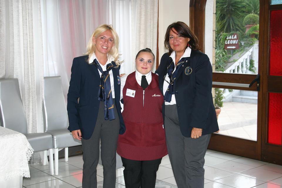 Manuela Papaccio, Martina Raiola e Anna Ciotola