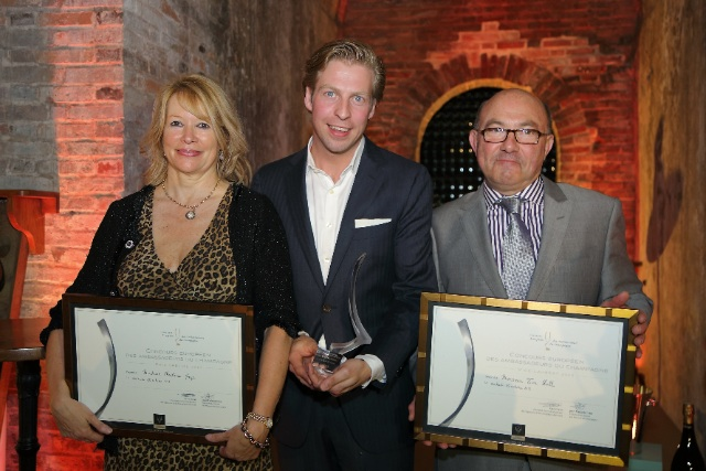 Christine-Mayr-Niek-Beute-Tim-Hall-winners-of-Champagne-Ambassadors-Competition-2013