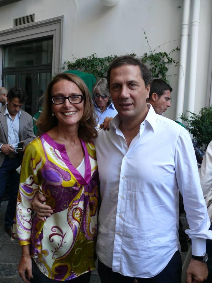 Donatella Bernabò Silorata e Maurizio Cortese