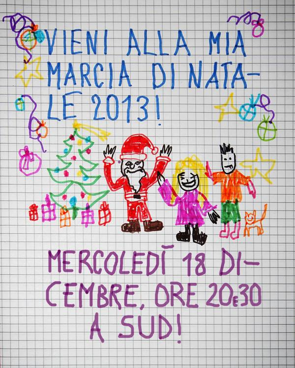 Locandina Marcia di Natale