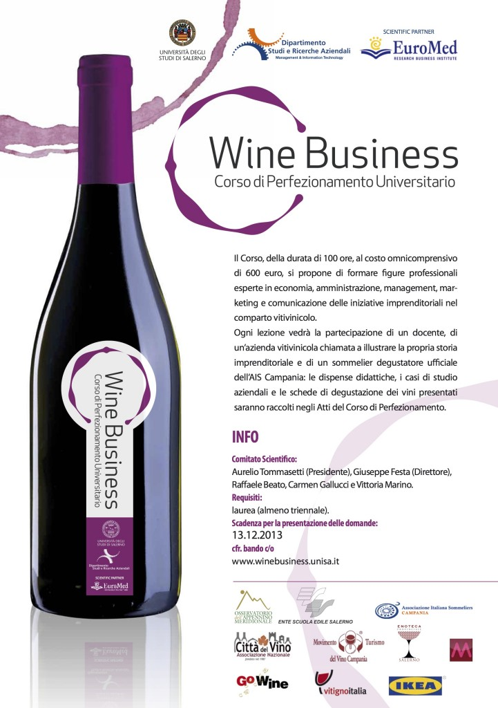 Poster Wine Business