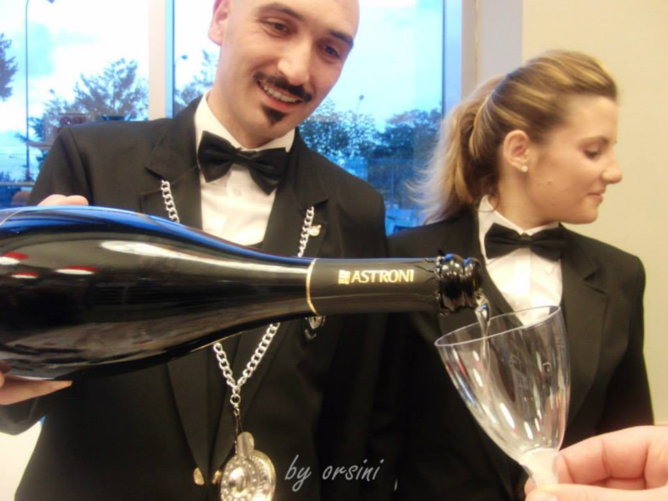 Sommelier Ais NApoli at work