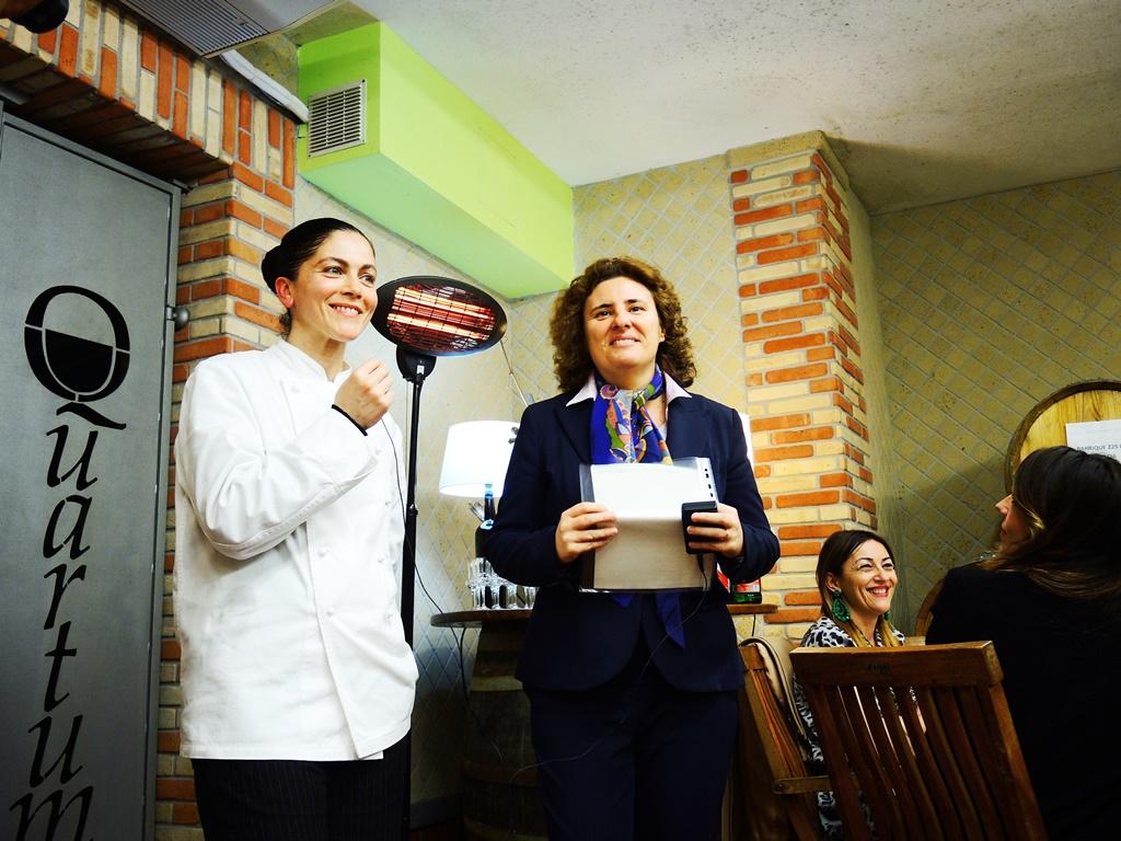 Rossana Marziale  e Laura Gambacorta