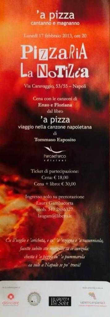 Locandina 'A Pizza a La Notizia