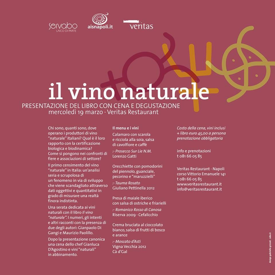 Locandina Il vino Naturale