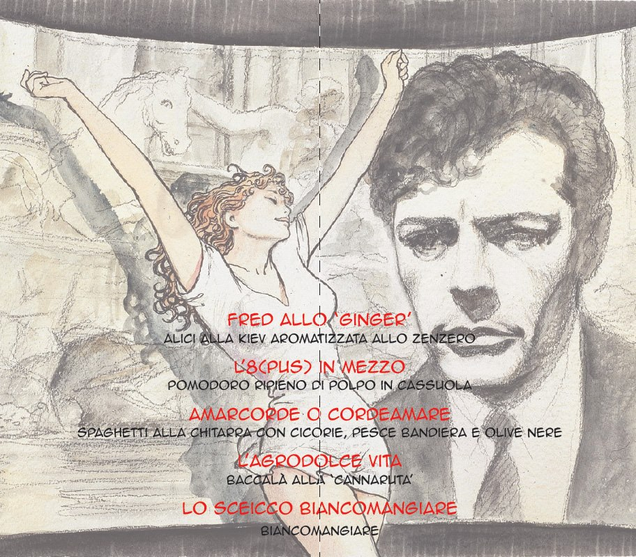 menu Federico Fellini da Umberto