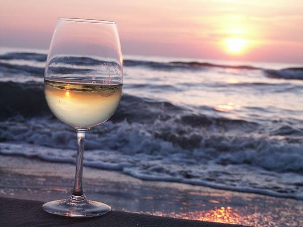 vino e il mare