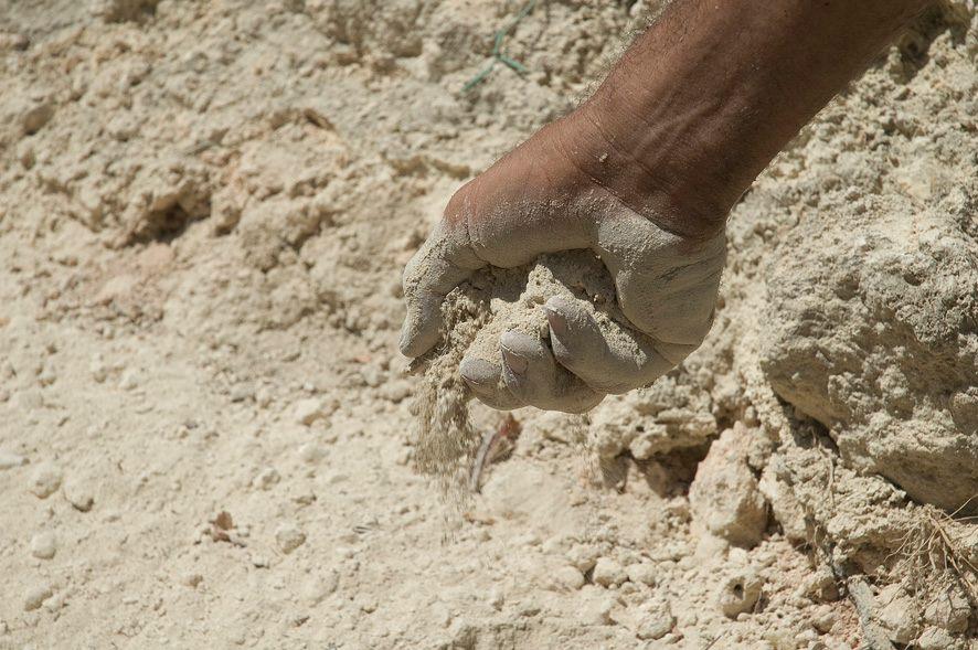 suolo gessoso di Campobello