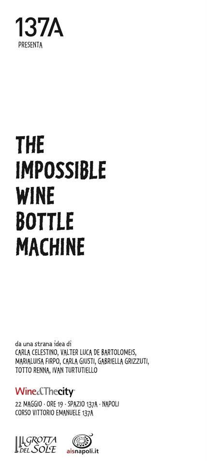 The Impossible Wine Bottle Machine