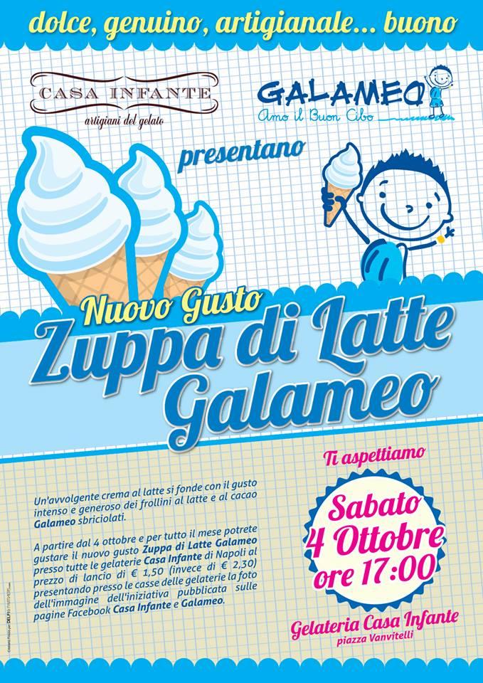 Locandina Gelato Galameo