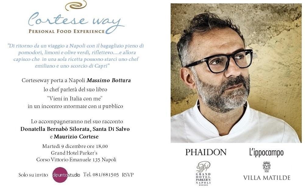 Massimo Bottura a Napoli