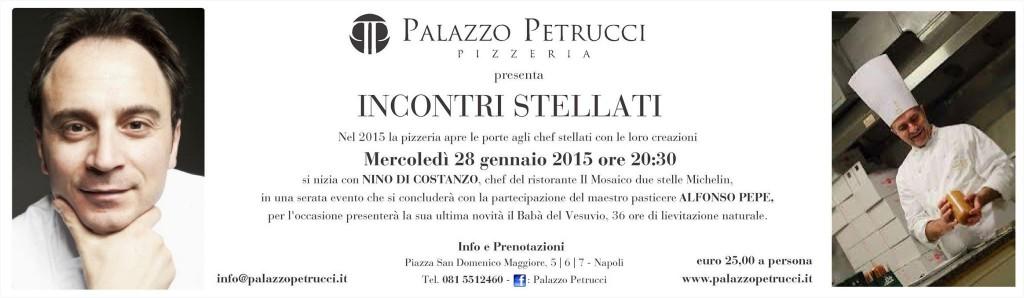 Incontri stellati a Palazzo Petrucci pizzeria
