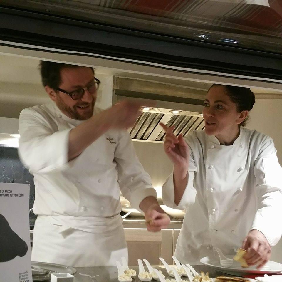 gli chef al lavoro