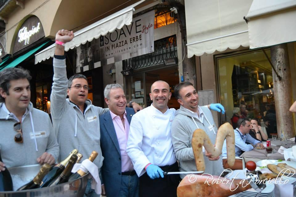 Champagne MOB a Verona