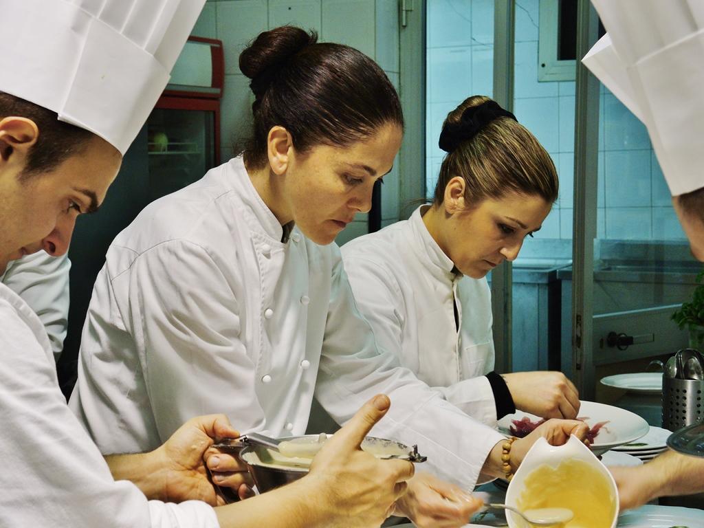 Rosanna Marziale al lavoro