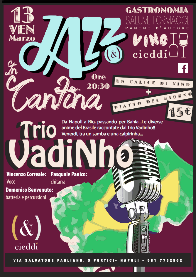 JAZZ IN CANTINA AL CIEDDI
