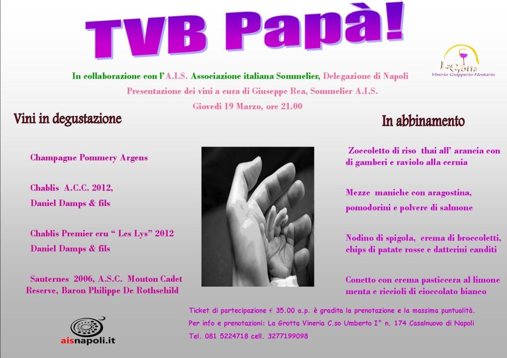 Locandina TVB Papà