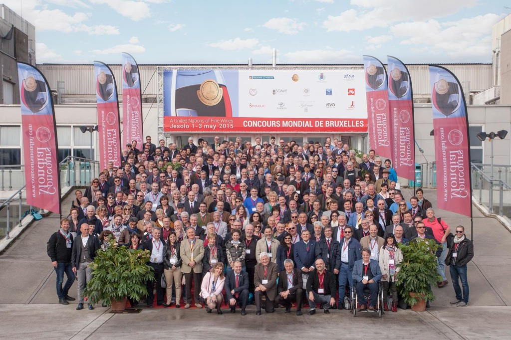 I giurati del Concours Mondial de Bruxelles