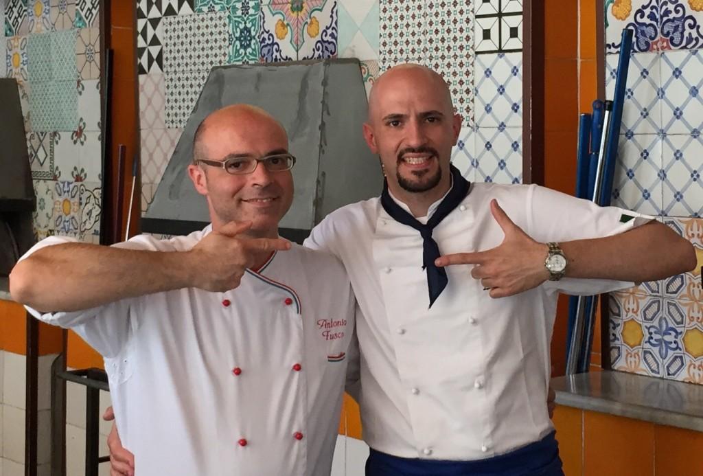 Eduardo Ore e Antonio Fusco
