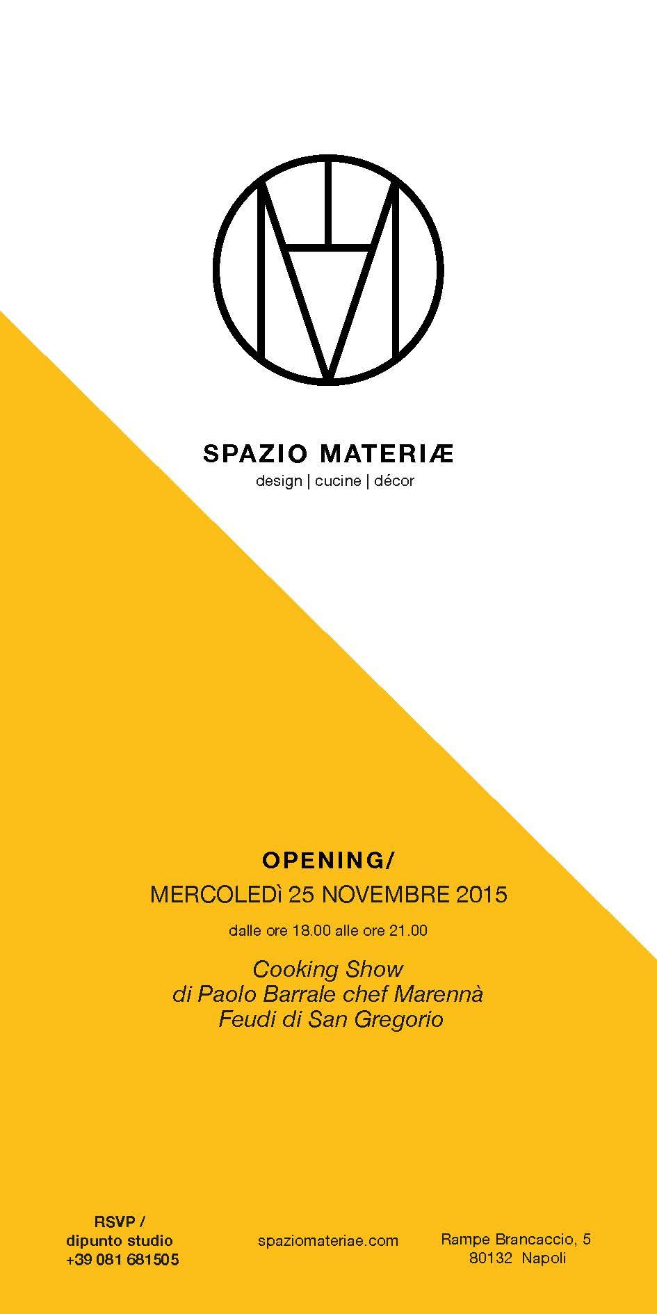Spazio Materiae 25novembre2015