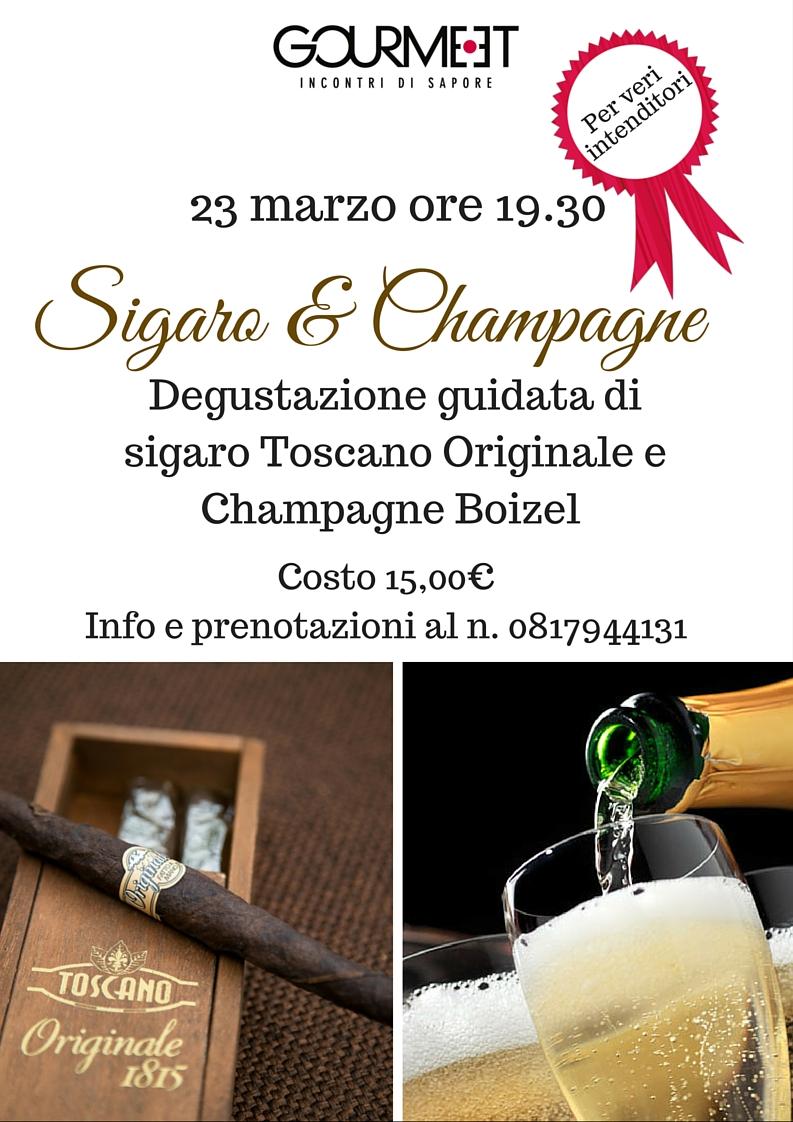 Sigaro e champagne