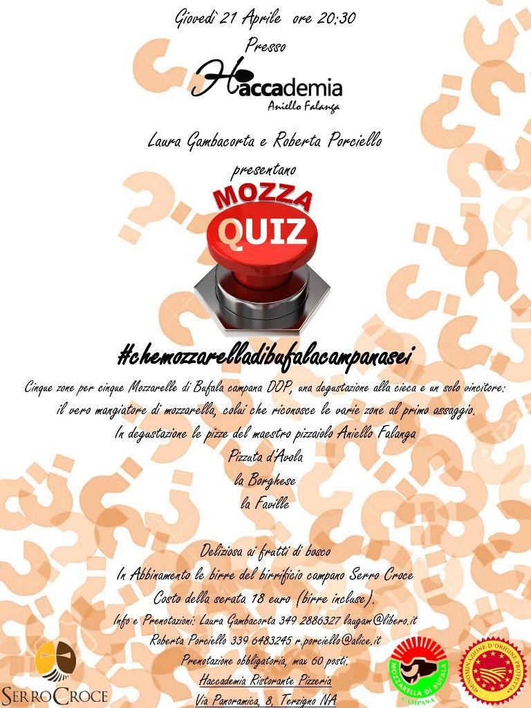 21 aprile Mozzaquiz da Haccademia web