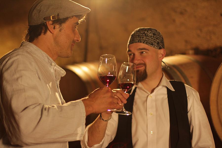 I Pirati del Kalterersee_a sx Gerhard Sanin, a dx Andrea Moser