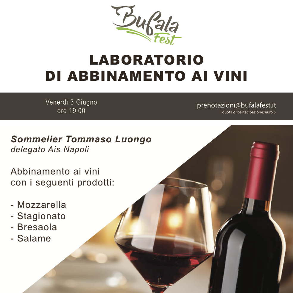 laboratorio bufala Fest Vino