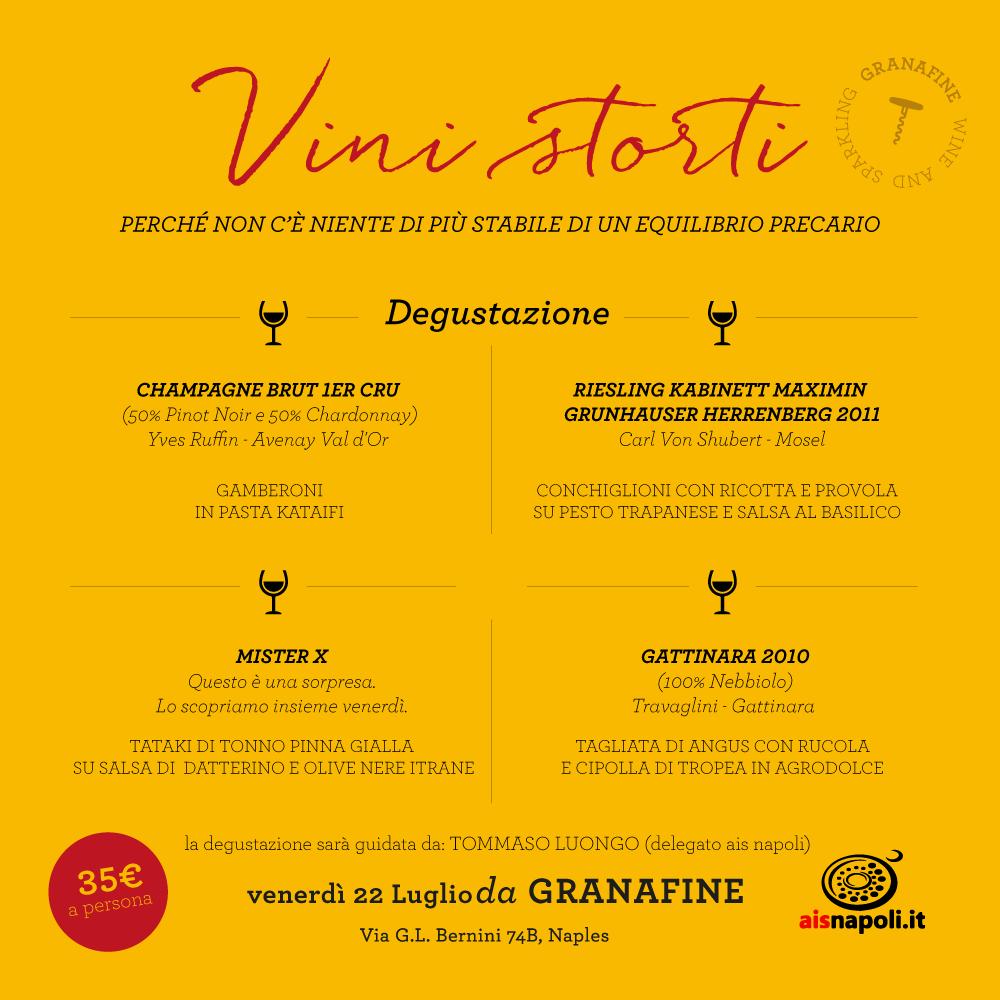 22 Luglio, I Vini Storti, second edition da Granafine