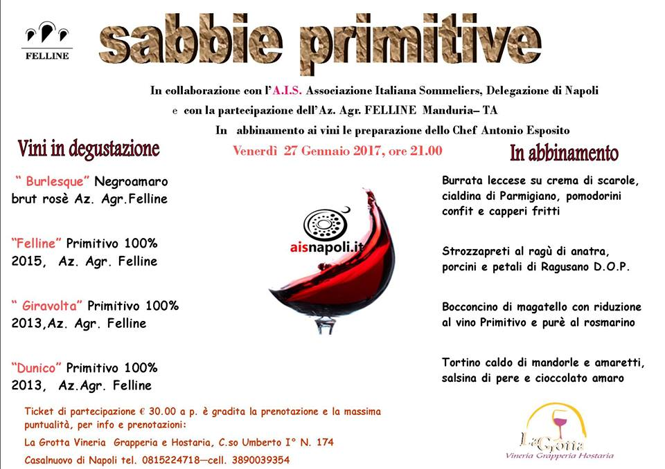 Sabbie primitive
