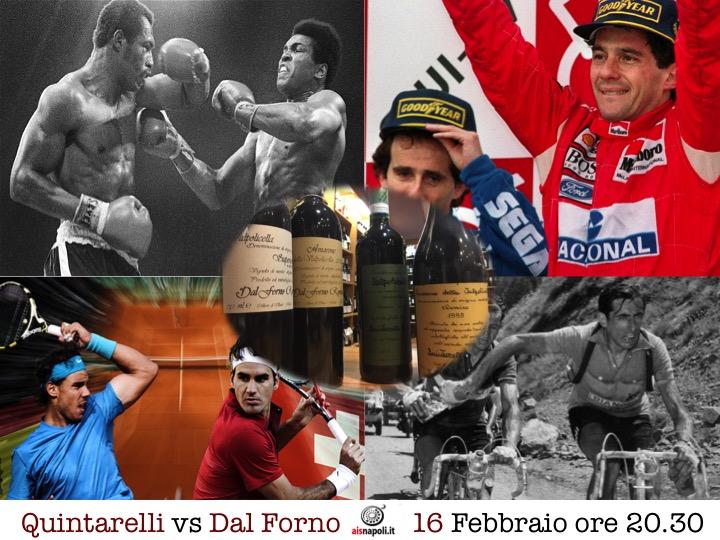 9 Marzo, Quintarelli e Dal Forno si sfidano all'EnoPanetteria con Ais Napoli