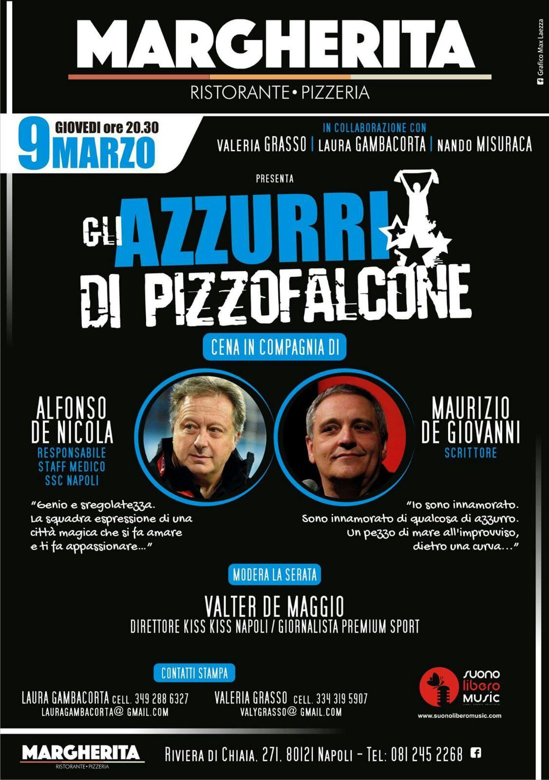 9 marzo Azzurri di Pizzofalcone