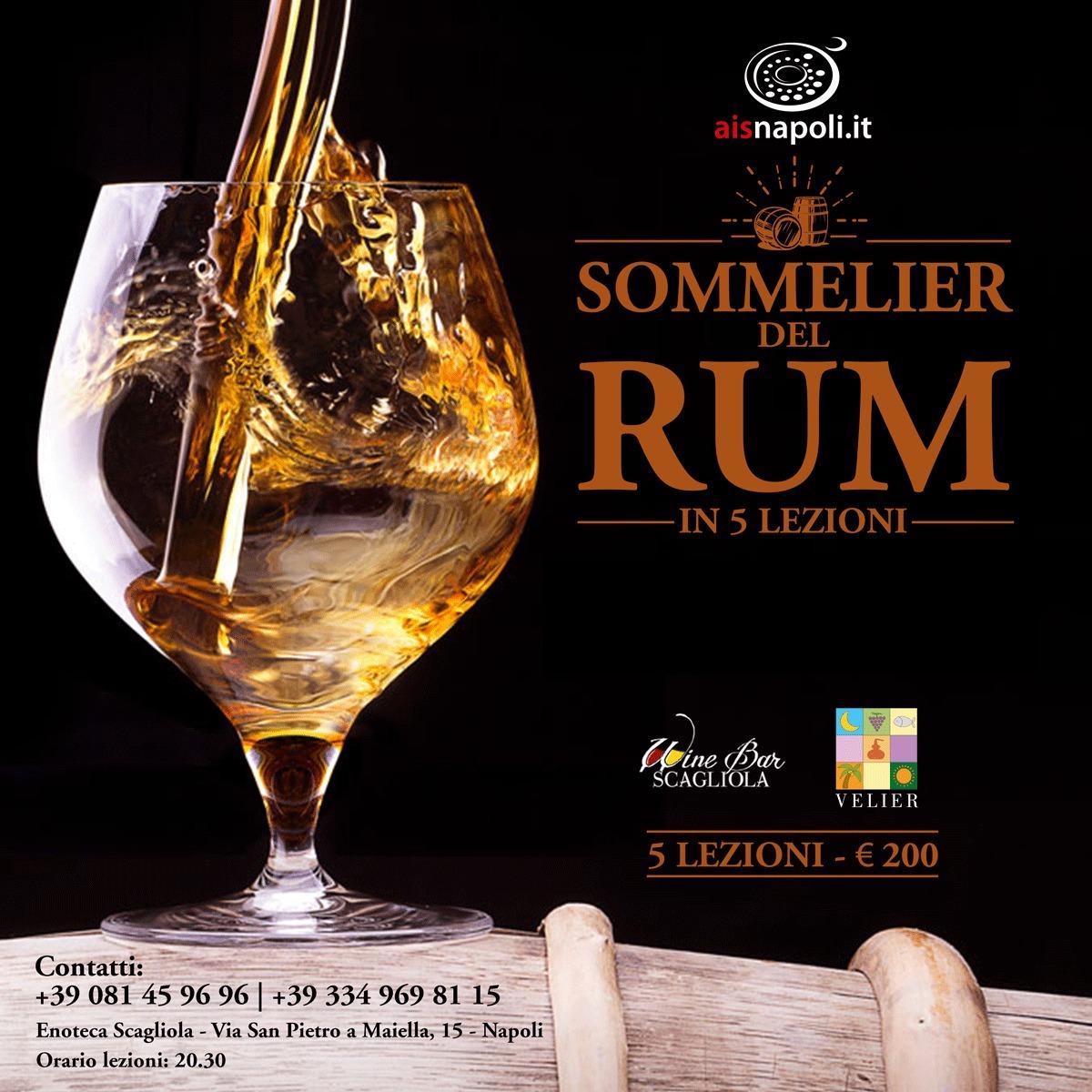 Locandina Sommelier del Rum