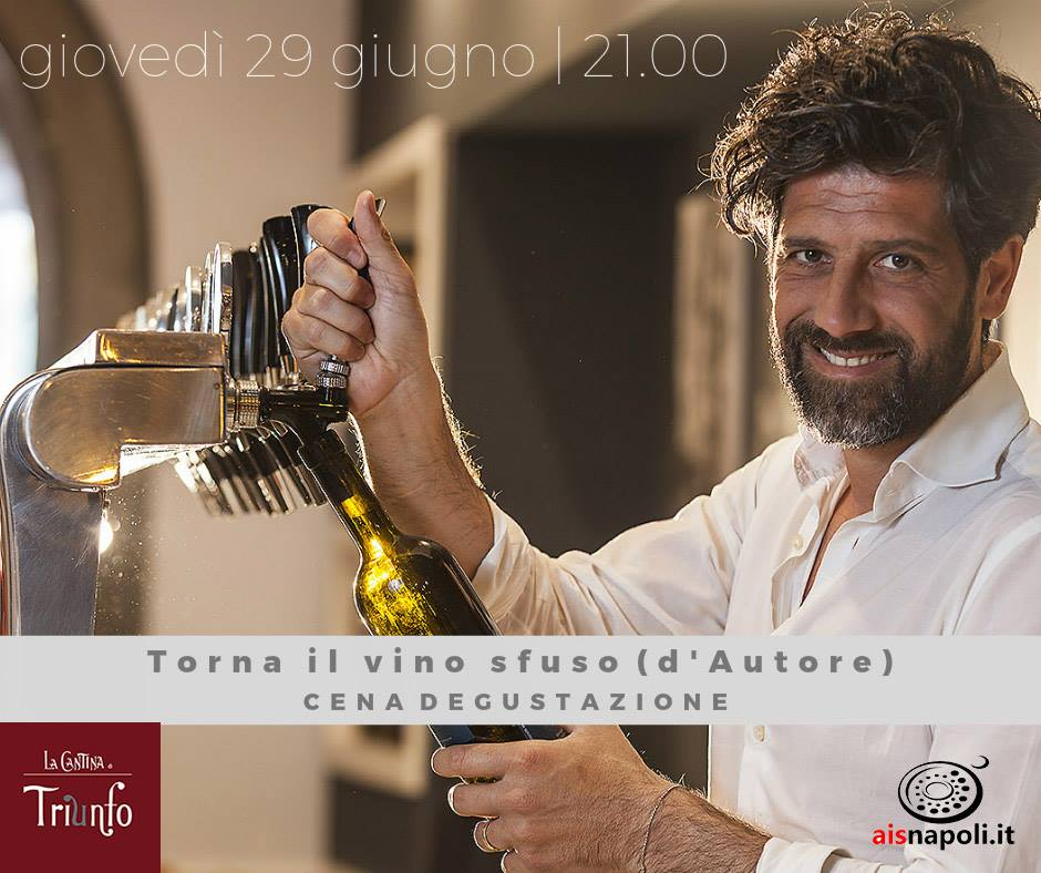 29 Giugno, Torna il vino sfuso (d'Autore) a La Cantina di Triunfo