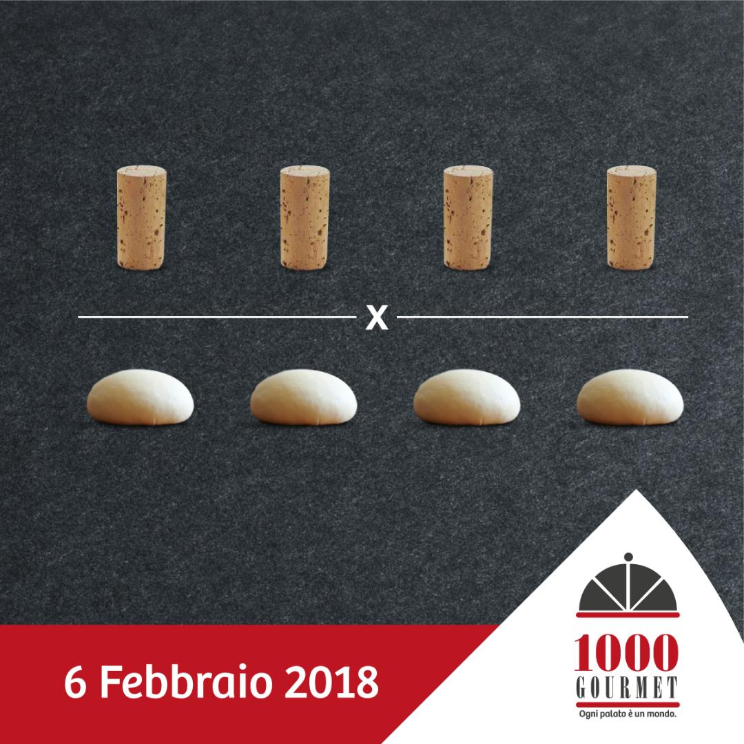 6 Febbraio, 4×4 da 1000 Gourmet con l'Ais Napoli