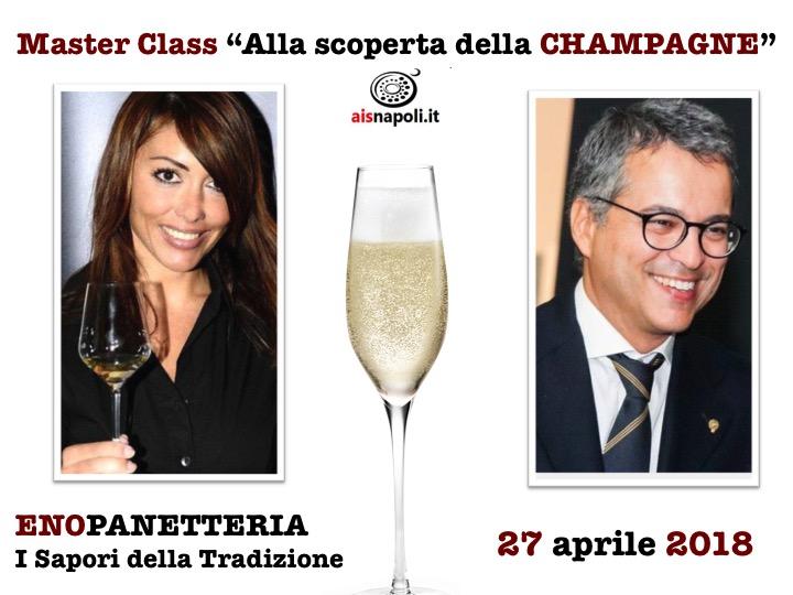 """27 Aprile, Master Class """"Alla scoperta della Champagne"""" all'Enopanetteria"""