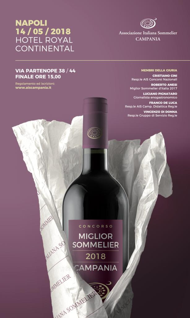 14 Maggio, Concorso Miglior Sommelier della Campania 2018 e degustazione American Wine