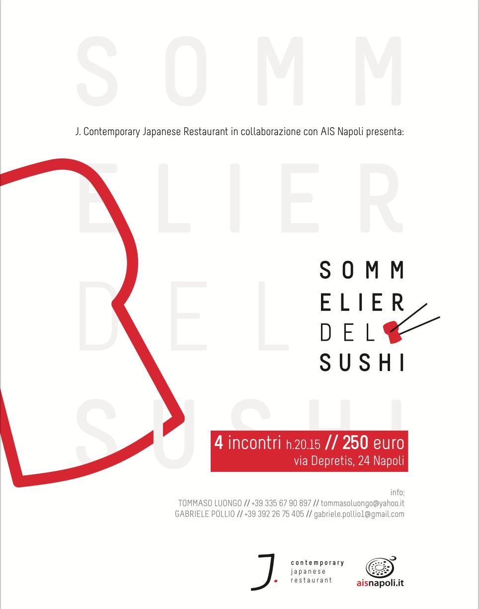 Sommelier del Sushi, quattro incontri da J Contemporary Japanese Restaurant