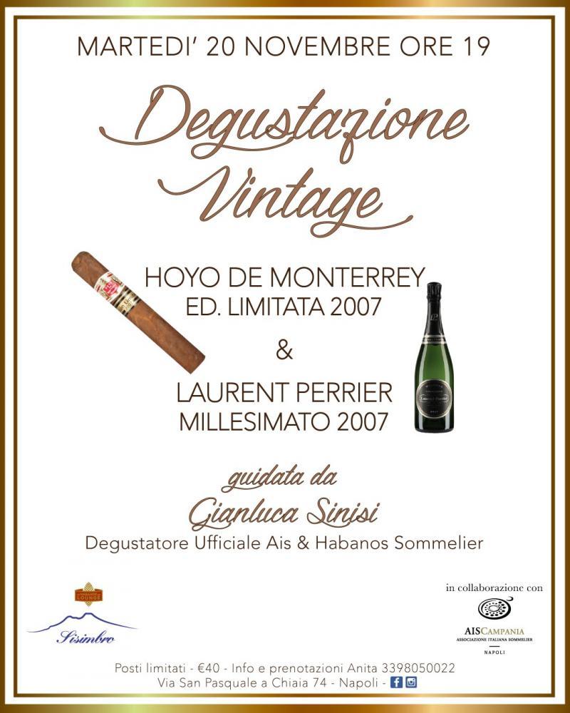 degustazione sigari e champagne